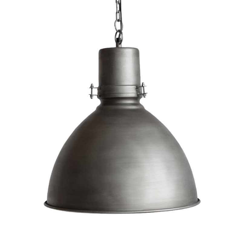 LABEL51 Industriële Hanglamp 'Strike', kleur Antiek Grijs