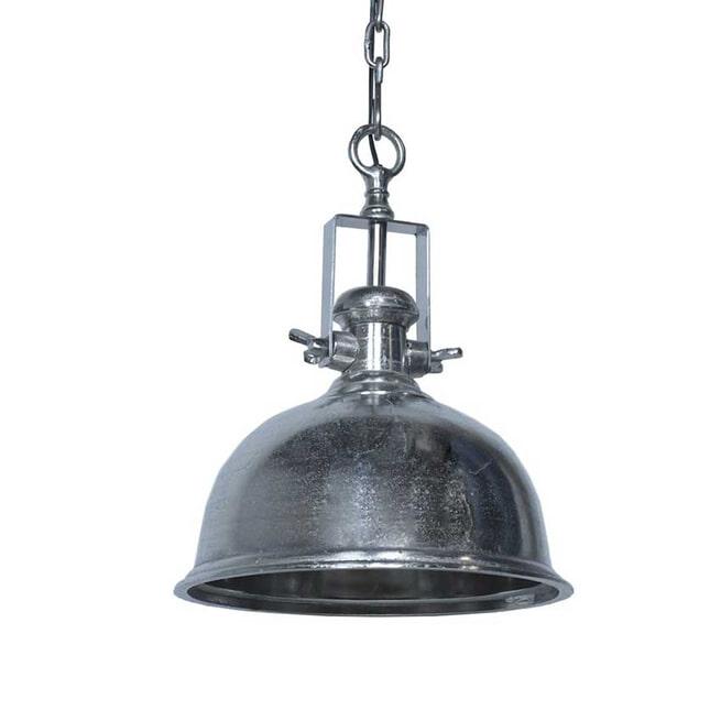 LABEL51 Industriële Hanglamp 'Tenerif', kleur Nikkel