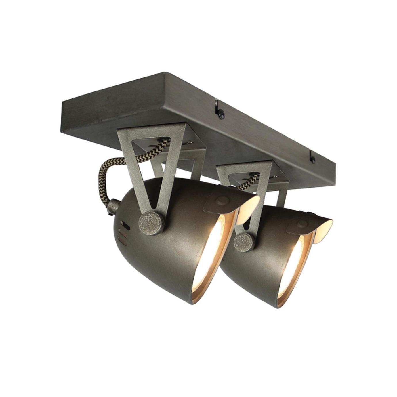 LABEL51 LED Spot 'Cap' 2-lichts 32x10x14 cm