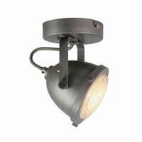 LABEL51 LED Spot 'Moto' 1-lichts, kleur Burned Steel