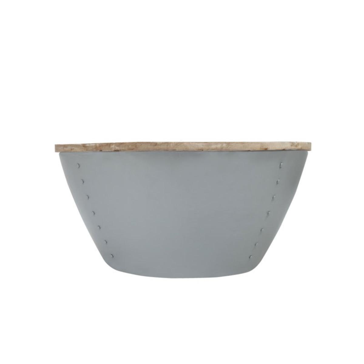 LABEL51 salontafel 'Indi XL', kleur Licht grijs Uitverkoop vergelijken doe je het voordeligst hier bij Meubelpartner