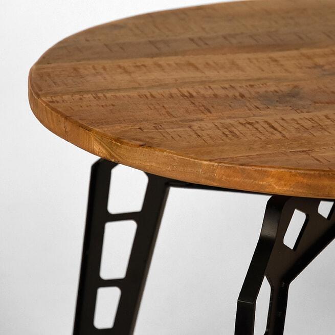 LABEL51 salontafel 'Pebble' 80x80x49 cm