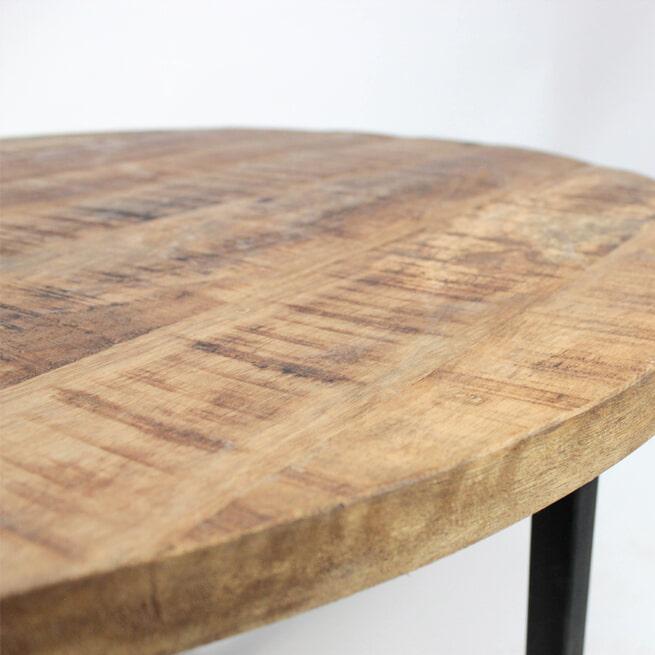 LABEL51 salontafel 'Rond Industrieel', 80cm