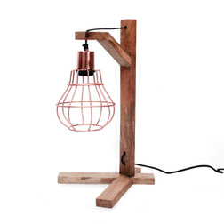 LABEL51 tafellamp 'Drop', kleur Koper