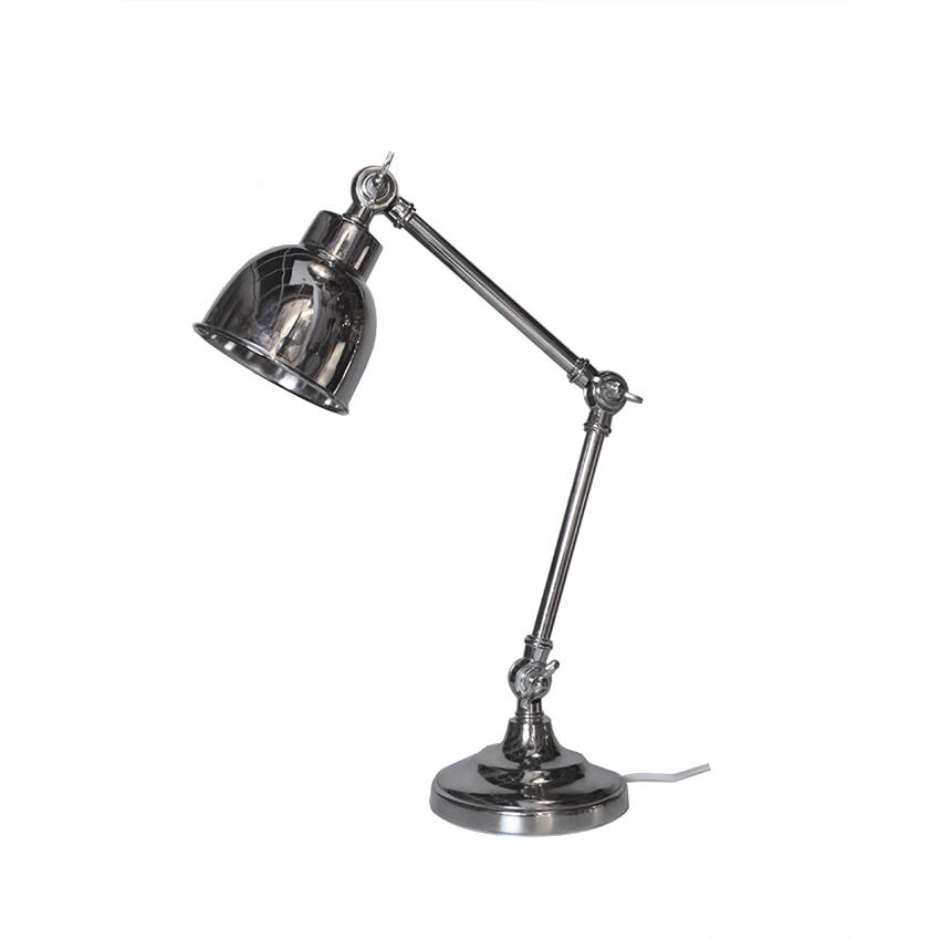 LABEL51 tafellamp 'Office Retro', kleur Nikkel