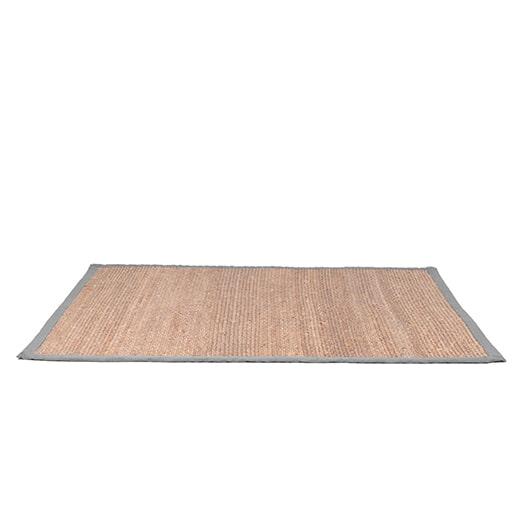 LABEL51 Vloerkleed 'Jute' 230 x 160cm, kleur Grijs