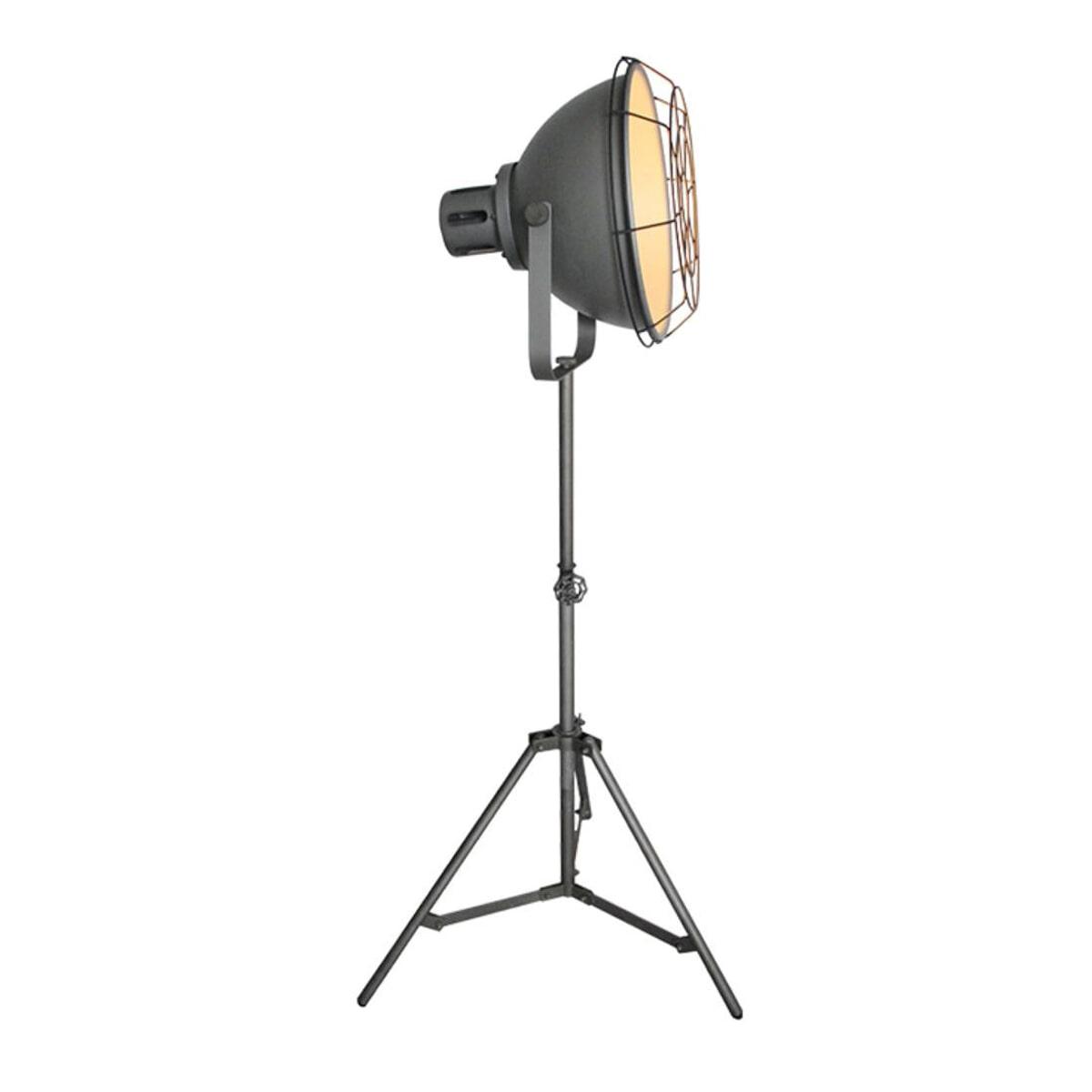 LABEL51 vloerlamp 'Max', kleur Burned Steel