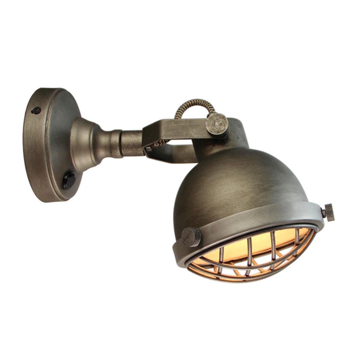 LABEL51 wandlamp 'Cas' LED, kleur Burned Steel