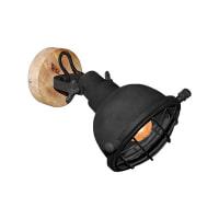 LABEL51 wandlamp 'Grid' 20x26x19 cm, kleur Zwart