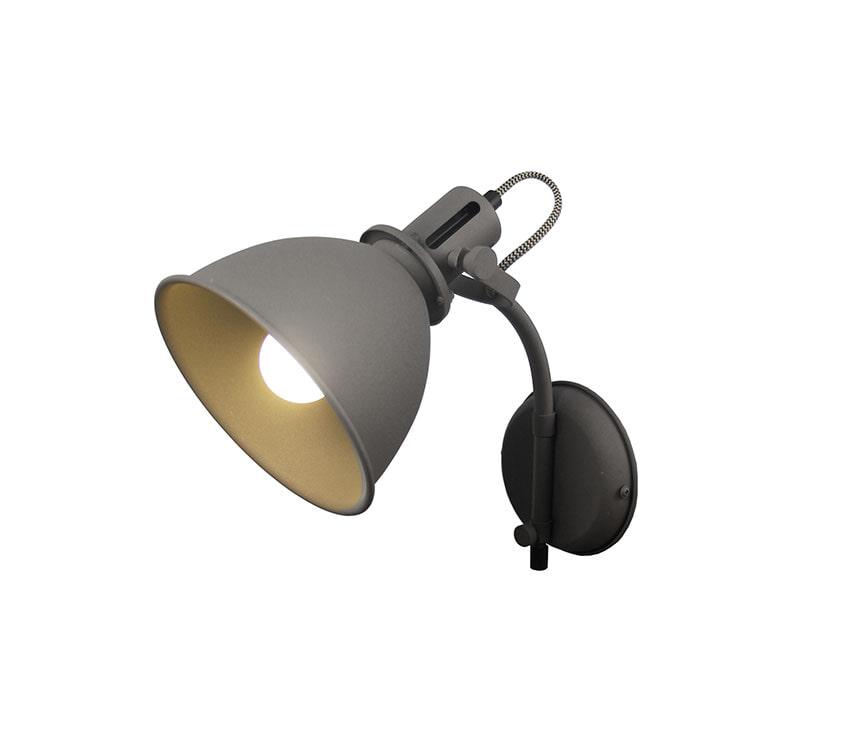 LABEL51 wandlamp 'Spot', kleur Grijs Uitverkoop vergelijken doe je het voordeligst hier bij Meubelpartner