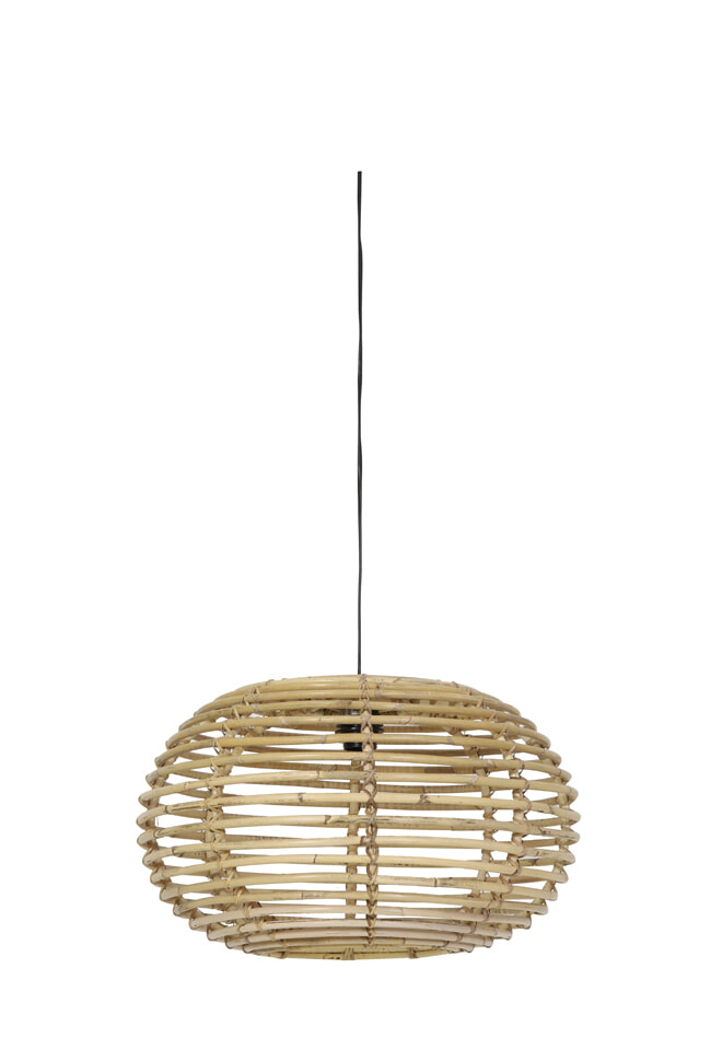 Light Living Hanglamp 'Alana' 60cm, rotan naturel