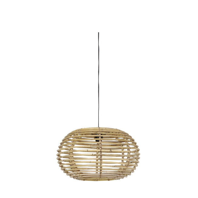 Light & Living Hanglamp 'Alana' 60cm, rotan naturel