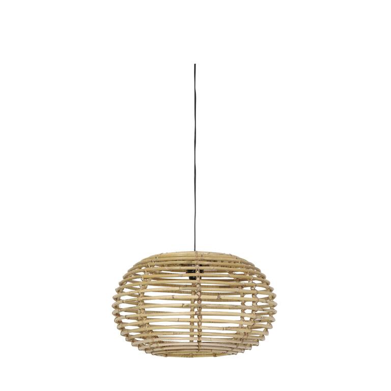 Light & Living Hanglamp 'Alana' 60cm, rotan naturel