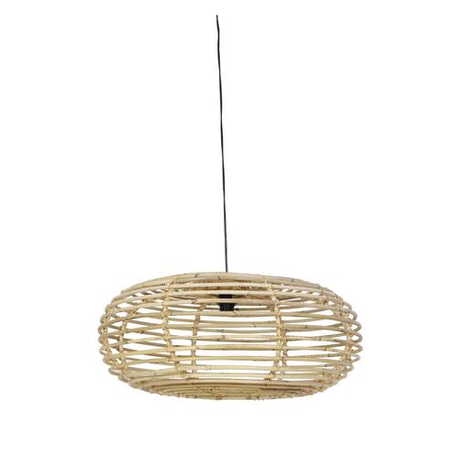 Light & Living Hanglamp 'Alana' 70cm, rotan grijs
