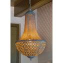 Light & Living Hanglamp 'Angelique' kleur antiek grijs