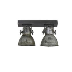 Light & Living Hanglamp 'Elay' 2-Lamps, vintage zilver