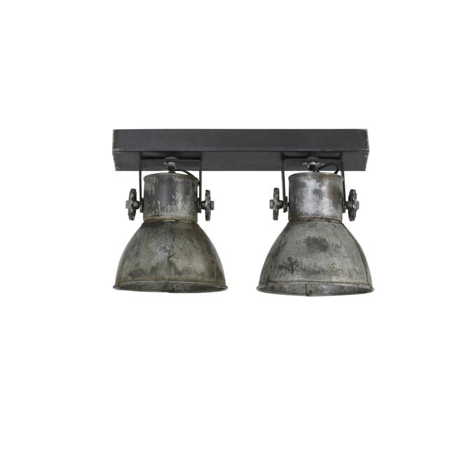 Light & Living Hanglamp 'Elay' 2-Lamps, kleur Zilver