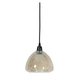 Light & Living Hanglamp 'Milica' 19.5cm, glas metallic