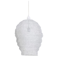 Light & Living Hanglamp 'Nikki' 45cm, gaas wit
