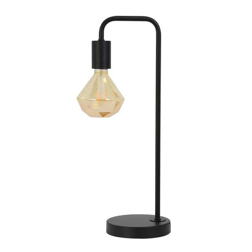 Light & Living Tafellamp 'Cody', mat zwart