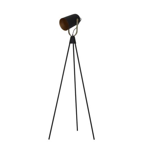 Light & Living Vloerlamp 'Ghani', zwart-goud