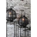 Light & Living Bijzettafel 'Hartsville', set van 2 stuks, kleur donkerbruin brons