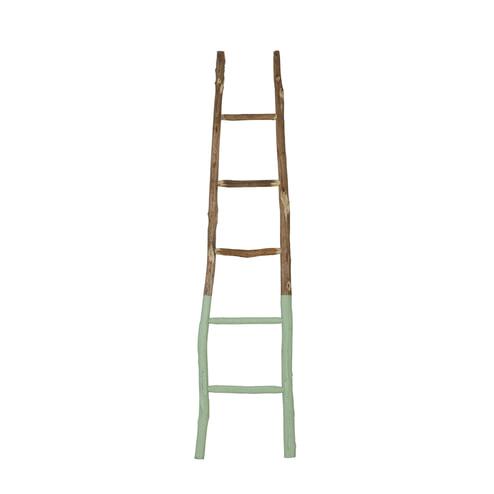 Light & Living Decoratie ladder 'Sten', groen