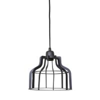 Light & Living Hanglamp 'Adine' 24cm, draad industrieel grijs