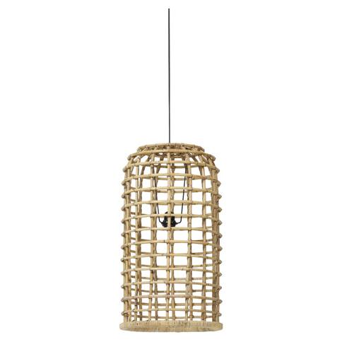 Light & Living Hanglamp 'Aliana' 36cm, rotan naturel
