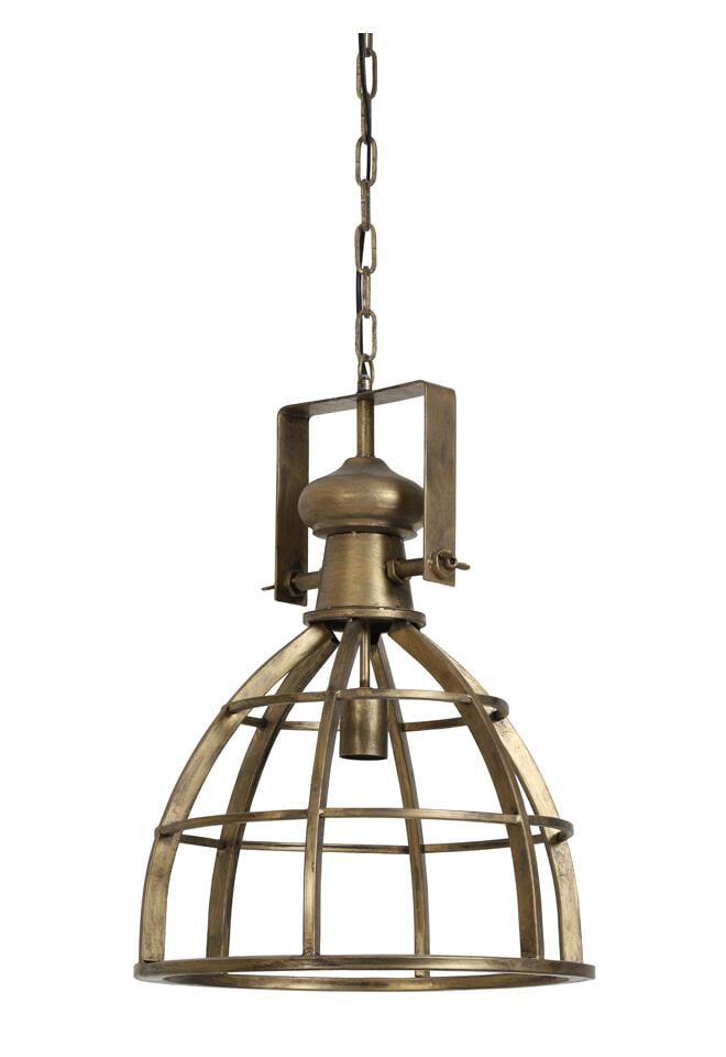 Light Living Hanglamp 'Amy' 40cm, brons