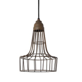 Light & Living Hanglamp 'Babette' 20cm, kleur roest