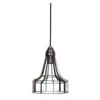 Light & Living Hanglamp 'Becky' 23cm, ruw nikkel