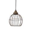 Light & Living Hanglamp 'Benthe' 20cm, kleur roest