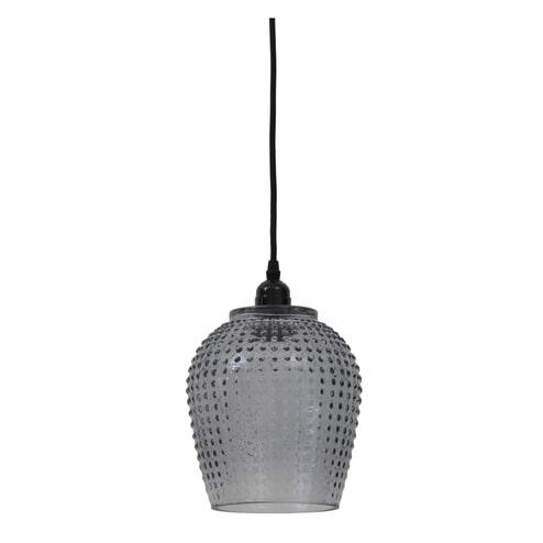 Light & Living Hanglamp 'Berdina' 18cm, smoke