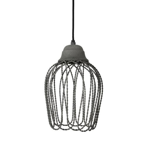 Light & Living Hanglamp 'Bettina' 20cm, kleur cement