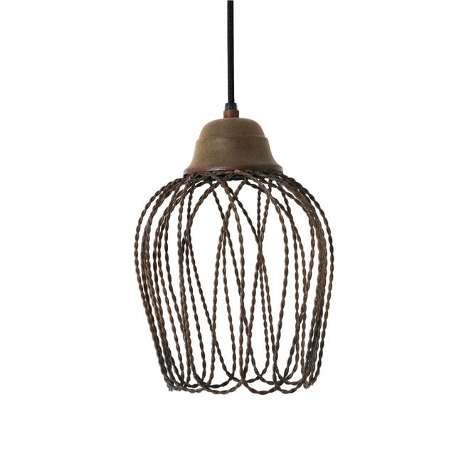 Light & Living Hanglamp 'Bettina' 20cm, kleur oud roest
