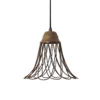 Light & Living Hanglamp 'Beverly' 25cm, kleur roest