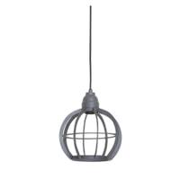 Light & Living Hanglamp 'Bibi' 23cm, industrieel grijs