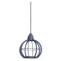 Light & Living Hanglamp 'Bibi' 23cm, mat blauw