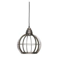 Light & Living Hanglamp 'Bibi' 23cm, ruw nikkel