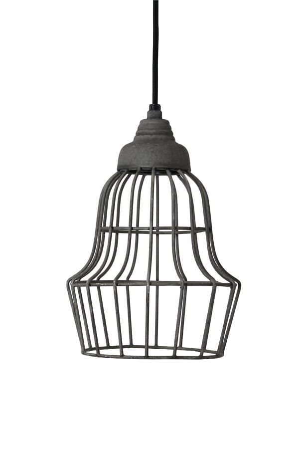 Light & Living Hanglamp 'Birke' 17cm, kleur cement