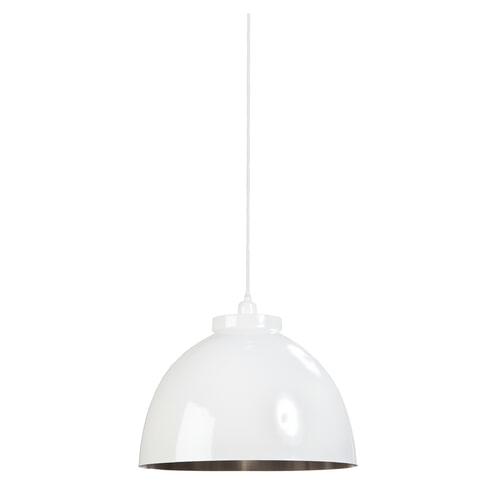 Light & Living Hanglamp 'Bold' 44cm, wit
