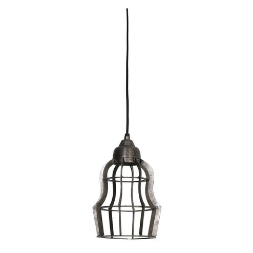 Light & Living Hanglamp 'Bracha' 18.5cm, ruw nikkel