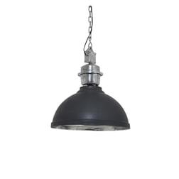 Light & Living Hanglamp 'Clinton' 42cm, antraciet