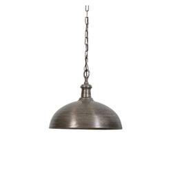 Light & Living Hanglamp 'Demi' 50cm, donker oud nikkel