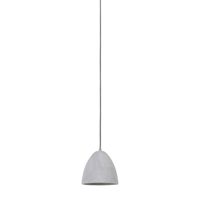Light & Living Hanglamp 'Devone' 19.5cm, cement