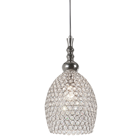 Light & Living Hanglamp 'Elza' 23x42 cm, kristal