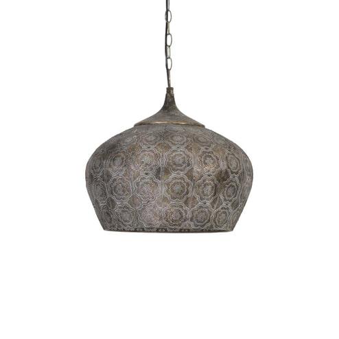 Light & Living Hanglamp 'Emine' 43.5cm, bruin goud