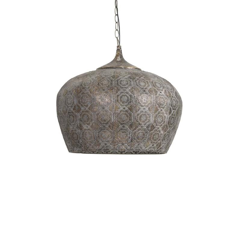 Light & Living Hanglamp 'Emine' 51.5cm, bruin goud
