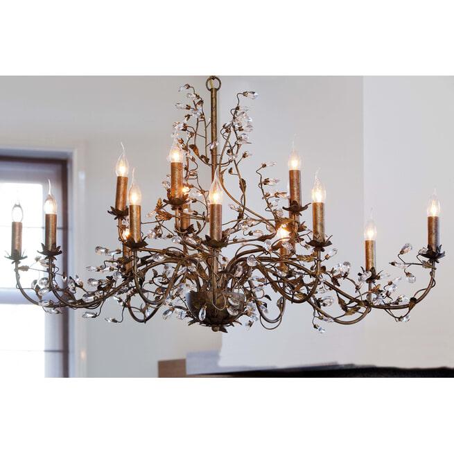 Light & Living Hanglamp 'Evita' 15 lichts 122x72x150 cm E14